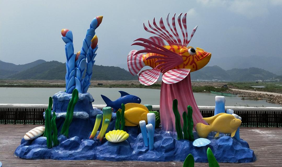 海洋系列雕塑
