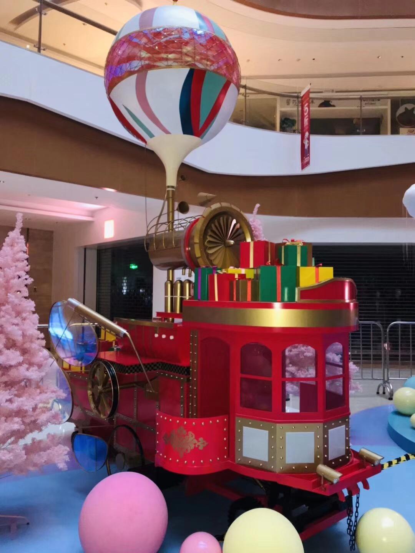 杭州龙湖圣诞主题雕塑2
