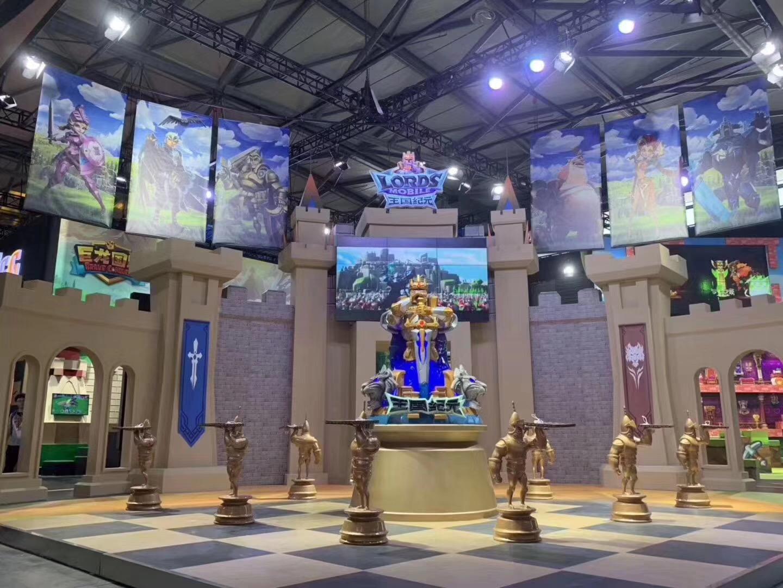 王国纪元主题雕塑