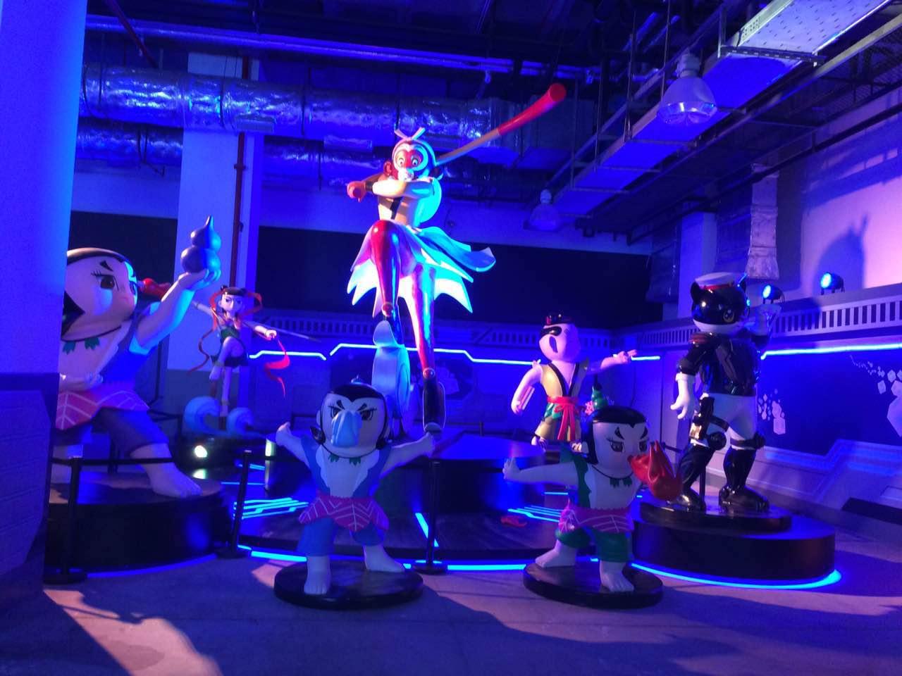 上海美术电影厂雕塑