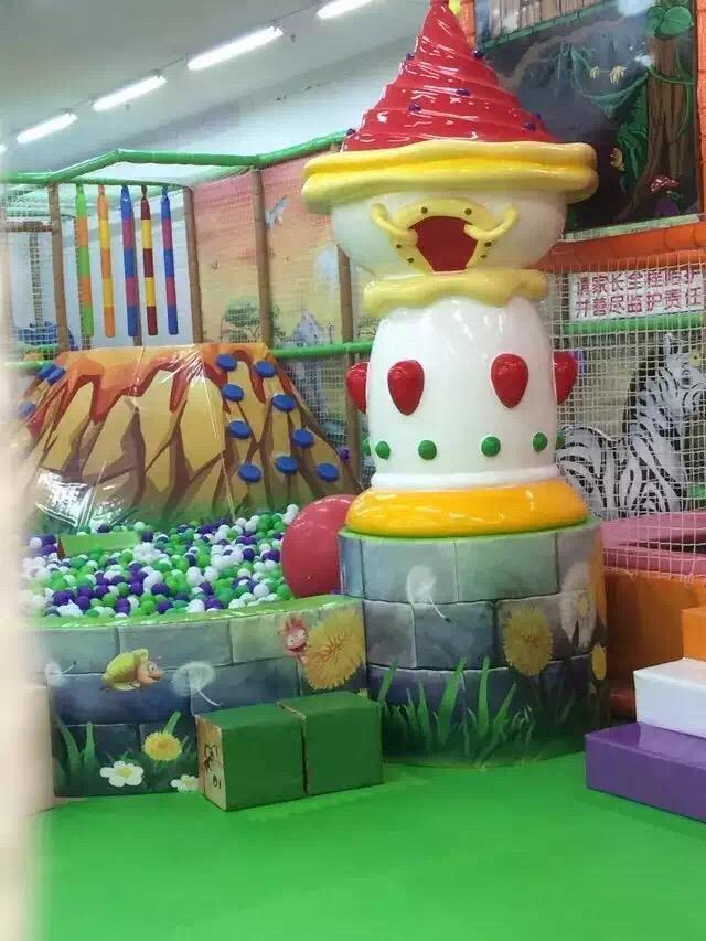 儿童乐园软包雕塑