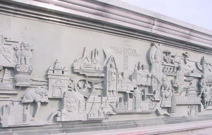 浮雕背景墙-1