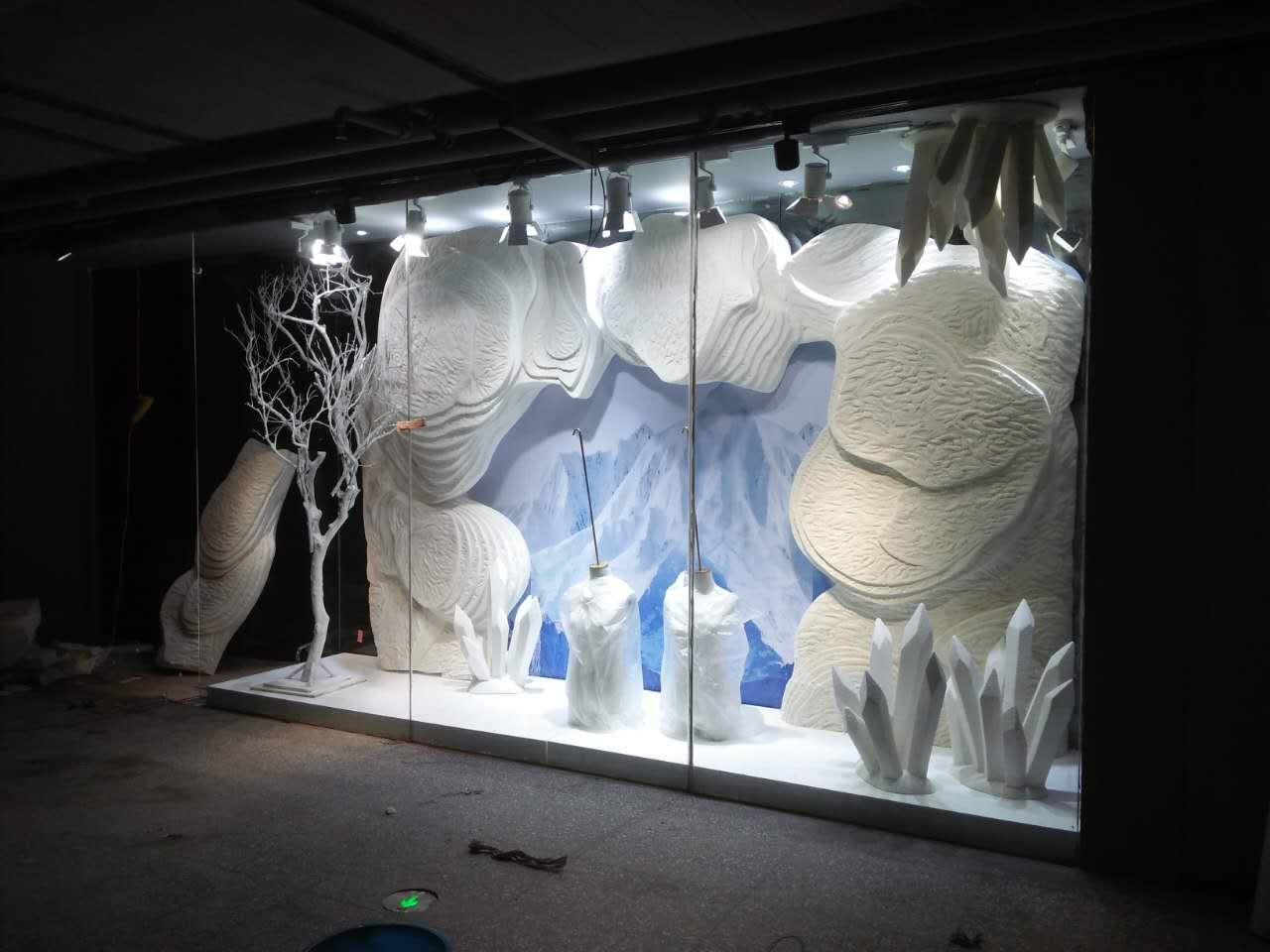 抽象冰雕雕塑