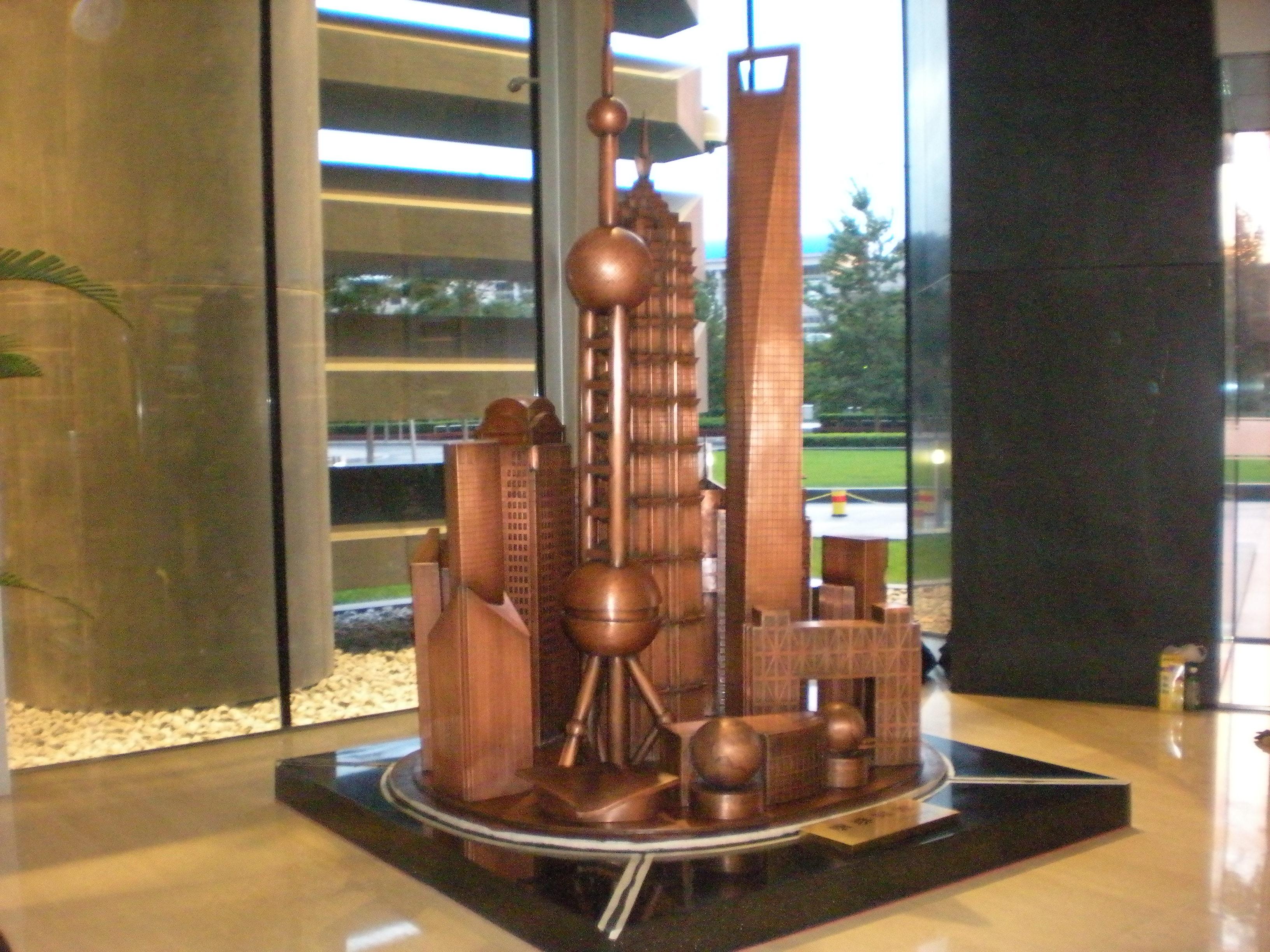 上海钢雕制作正在走向新的开端