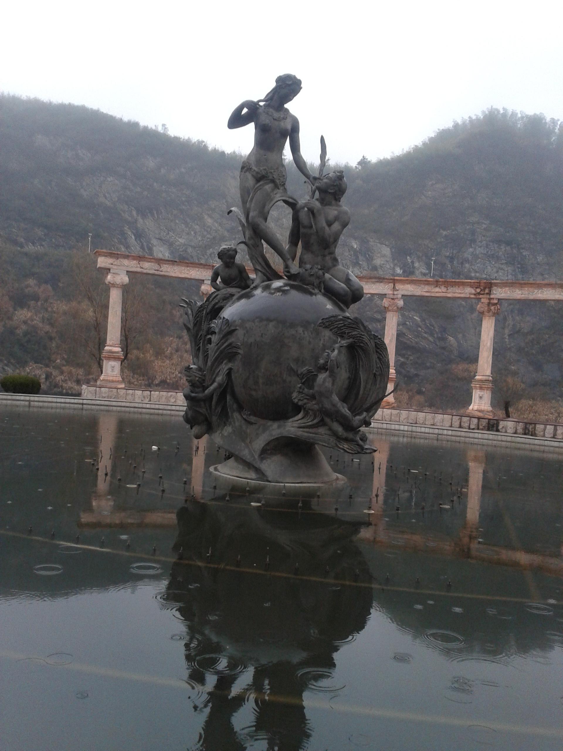 铸铜雕塑的制作方法