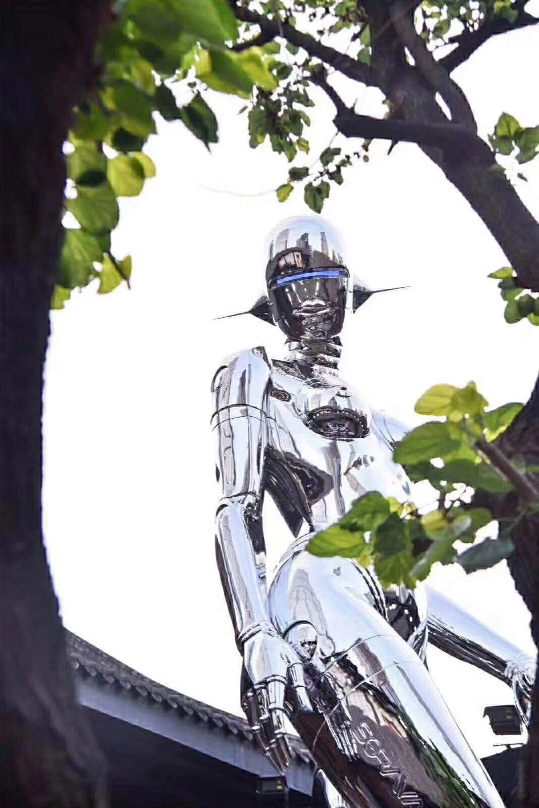 不锈钢雕塑的抛光工艺!