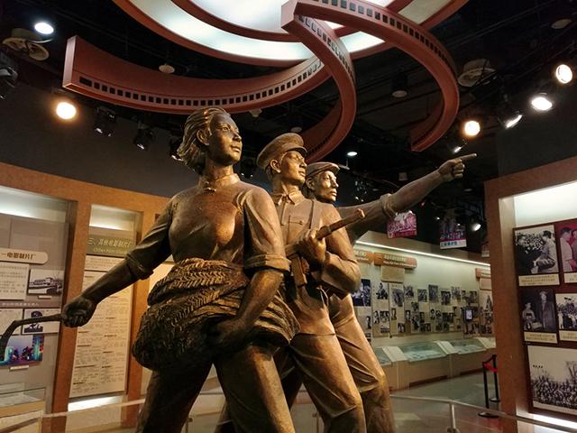 人物铜雕对园林雕塑的价值