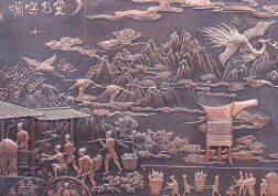 铜浮雕的制作工艺